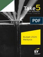 Take5 Budget2020 Malaysia 12Oct2019