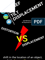 Lecture 8 Relief and Tilt Displacement