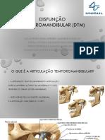 DTM - Disfunção Temporomandibular