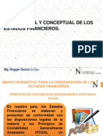 Marco Legal y Conceptual de Los Estados Financieros Marzo 2019
