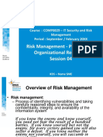 2018081611530400014152_PPT3_Risk Management _ Planning For Organizational Readiness Technical aspect of Information Security Network_R0.ppt
