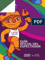 Lima2019 Guia Espectador Sede