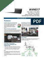 AVH517 Spec