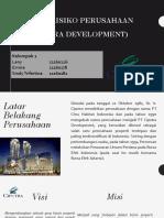Analisis Risiko Perusahaan Property
