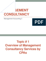 Management Consultancy L11