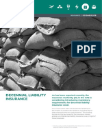 Decennial Liability Insurance