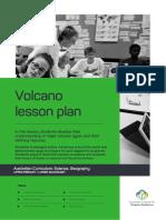 Aidr Volcano Lesson Plan