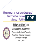 Thickness Measurement technique for multi layer coating