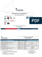 Inixindo Training Schedule 2015