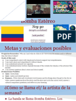 TPT - Bomba Estereo - Soy yo - Artista de la semana  - New Spanish 1.pptx