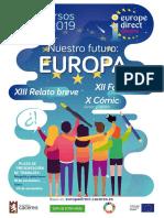 Flyer Concursos Europa Direct 2019