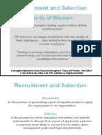 Presentation Recruitment
