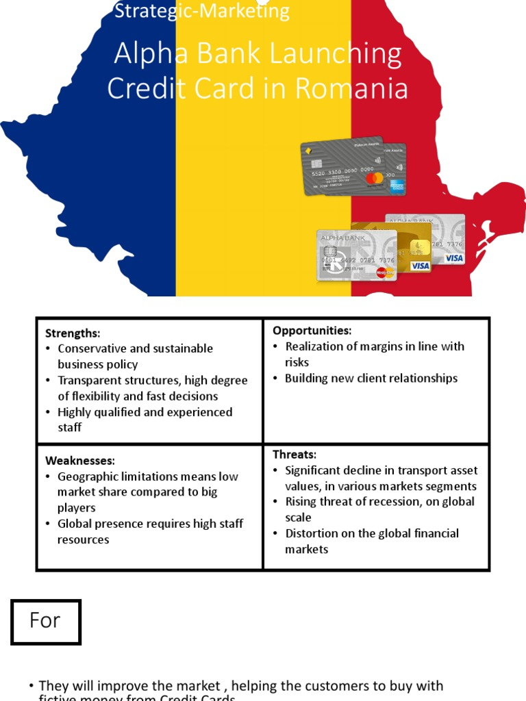 Credit card online romania