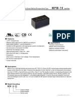 Meanwell 10W capsule specifications