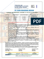 Library Notice -Wirc 25-07-2019