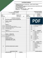 Format Laporan Harian KONSTRUKSI