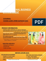 Export Business Plan for SLES