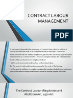 Contract Labour Management