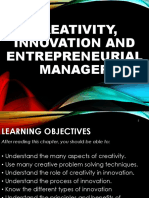 Creativity Innovation and Entrepreneurial Manager 1
