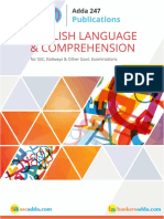 English Language & Comprehension