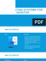 10 Operating Systems for Desktop