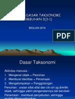 Materi Pengantar Taksonomi 1-1-1