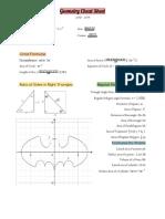 Triangle Formulas
