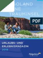 Helgoland Urlaubsmagazin 2019