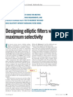 Elliptical Filters