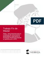 TFM Procesos educativos