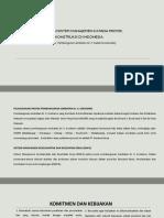 Penerapan Sistem Manajemen k3 Pada Proyek Konstruksi Di