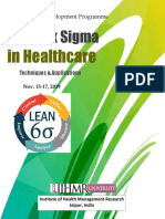 Lean Six Sigma Healthcare