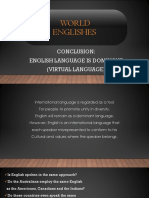 World of Englishes