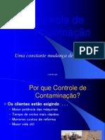 Treinamento Controle Contaminação - MODELO