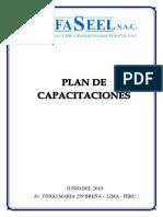Plan de Capacitaciones