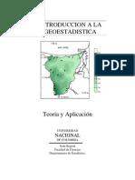 LIBRO DE GEOESTADISTICA.