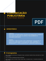 COMUNICAÇAO PUBLICITARIA