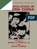 (The Plenum Series on Demographic Methods and Population Analysis) Li Muzhen (auth.), Dudley L. Poston Jr., David Yaukey (eds.)-The Population of Modern China-Springer US (1992).pdf