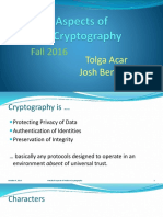 Modern Cryptography Lecture 1