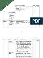 Planificare program rotacism