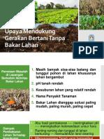 Teknologi Pertanian Tanpa Bakar Lahan