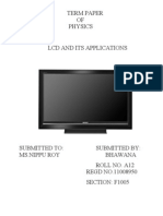 Introduction to LCD and Overview