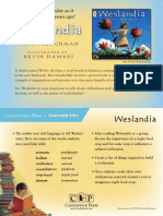 Weslandia Teacher Tip Card