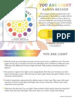 You Are Light Teacher Tip Card