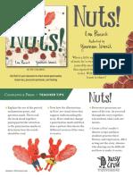Nuts Teacher Tip Card