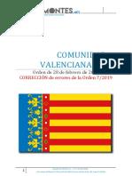 Comentario Oposición 2019-Valencia