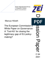 WhitePaper EC on Governance