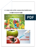 aduterants in food stuff