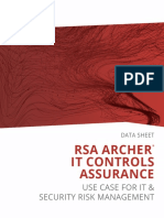 RSA Archer IT Controls Assurance