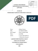 Laporan Praktikum Geografi Regional Indonesia - Acara III